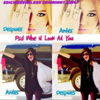 PSD Whe It Look At You by EdicionesValeen