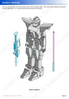 Gundam/mecha cosplay costume tutorial - Lesson 9-4 by Clivelee
