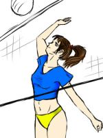 volley player by samih-chan