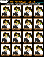 Coby's Emotions Meme by EternalInsanity787