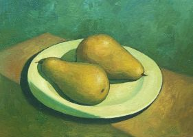 Pears by VitUrzh