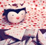 Mr. Penguin's Peppermint Bark by YasminNich