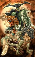 darkstalkers by elcheko