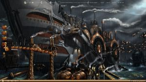 Steampunk Ark by Ryvermist