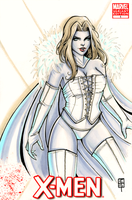 Vampy Emma Frost by AberrantKitty