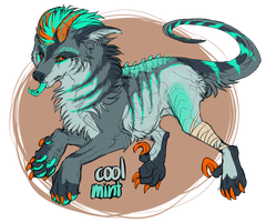 Arcanus Cool mint Adopt [CLOSED] by Velkss