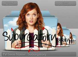 Suburgatory - Tv Series Folder Icon by atty12