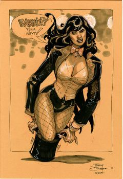 Zatanna SKETCH by TerryDodson