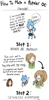 Your Guide on How To Make a Popular OC by hotcoco7946