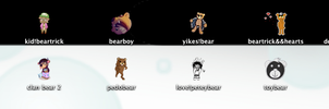 FOB-BEAR Dock Icons Pack by batbeater