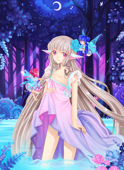 +Chii and Midsummer Night's Dream+ by larienne