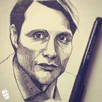Hannibal Sketch by akumuink