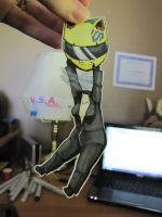 Celty Paperchild by SakuraKeyblader78