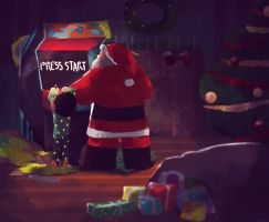 Season's greetings to everyone! by Andry-Shango