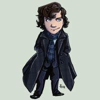 Comish - BBC Sherlock by oneoftwo