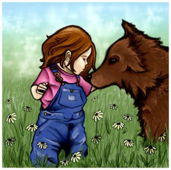 Renesmee + Jacob by teaspoon00 by TheTwilightFanClub