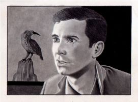 Anthony Perkins by depoi