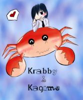Krabby and Kagome-CollabArt by LovelyPoison