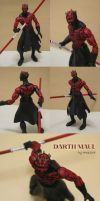 Marvel Legends Darth Maul by Mace2006