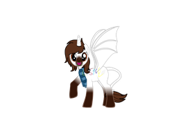 Ponified LPSona in Pony Maker by LPS100