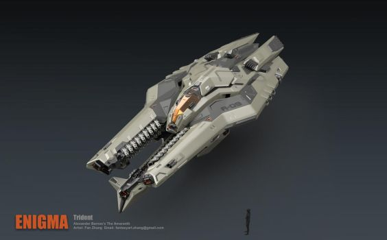 Trident Bomber- Hight speed mode by icedestroyer