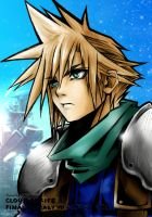 FFVII: Crisis Core - Cloud by Buckokku11