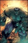 Hulk Ribeiro color fun by SpicerColor