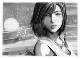 Final Fantasy X : Yuna by AimanMD