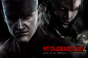 Metal Gear Solid 4- by Lithium by lithium0789