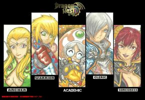 DRAGON NEST : Classes by NeoAzrie