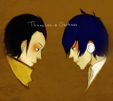 Persona 3: Thanatos Orpheus by DecemberComes