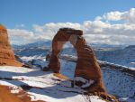 Delicate Arch in Winter by GoingTheScenicRoute