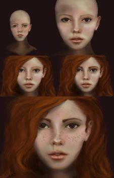 Red Head Step by ALMcNelly