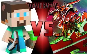 DEATH BATTLE: Steve? vs Terrarian by G-Odzilla