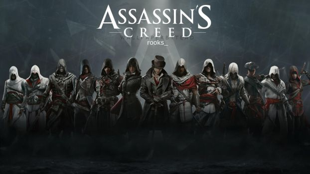 Assassin's Creed HD wallpaper 5 by teaD by santap555