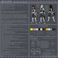 Moonstalker Reference Sheet: Jan. 2014 by MoonstalkerWerewolf