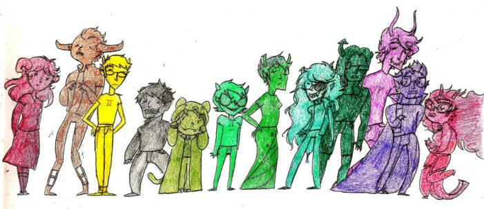 All the Trolls by RoyalBalloon