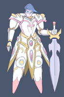 Pastel Knight by Hennei