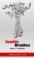 Jumble Brushes 03 : Nastaleeq by faiis