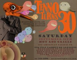 My 30th bday flier by vicioussuspicious