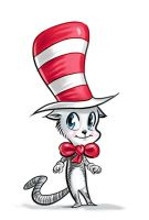 Cat in the Hat - For Little Girls by breyica