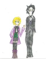 Claude Faustus and Alois Trancy by karutimburtonfan