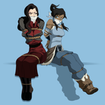 Commission - Korra by Ktu-lu