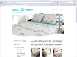 Site Novo Toque by mediatom