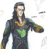Thor 2- Loki by CrazyOtaku13