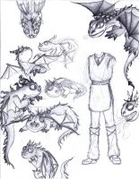 HTTYD Practice: Terrible T.'s by Kyra-Odayashi