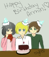 Happy Birthday Armin! by ShyOne1234