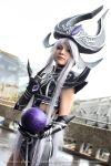 League of Legends- Syndra cosplay by Hikarux33
