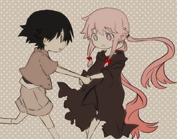 Yuki x Yuno by DarthWooser