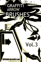 Graffiti Arrow Brush Pack 3 by SikWidInk